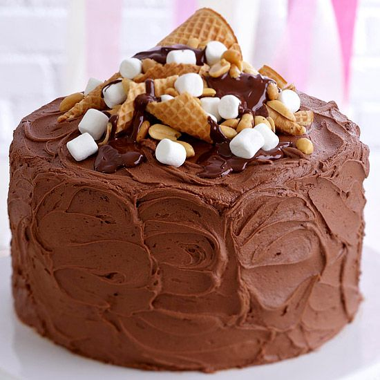 Creative Chocolate Cake Decorating Ideas : Creative Cake-Decorating Ideas Rocky road cake and Rocky ...