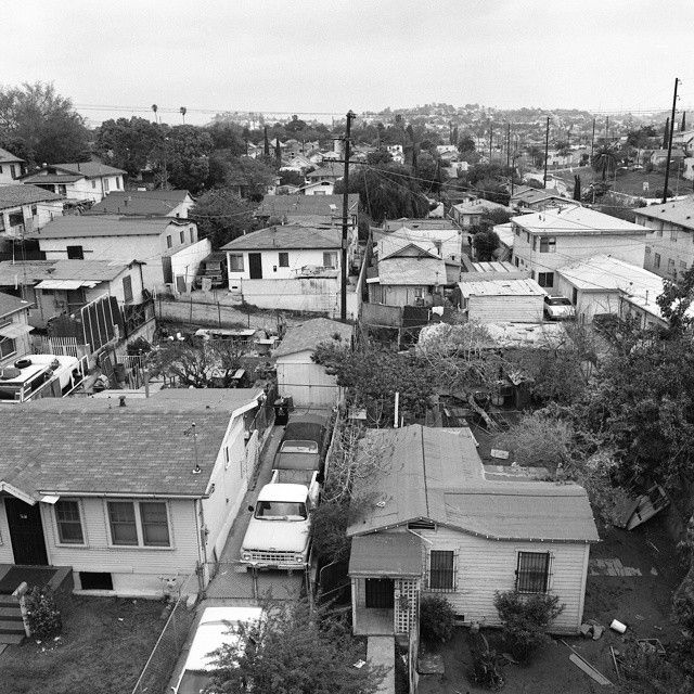 View From 4th St Boyle Heights 90s Ph Gregory Bojorquez East Los Angeles Boyle Heights Scenic
