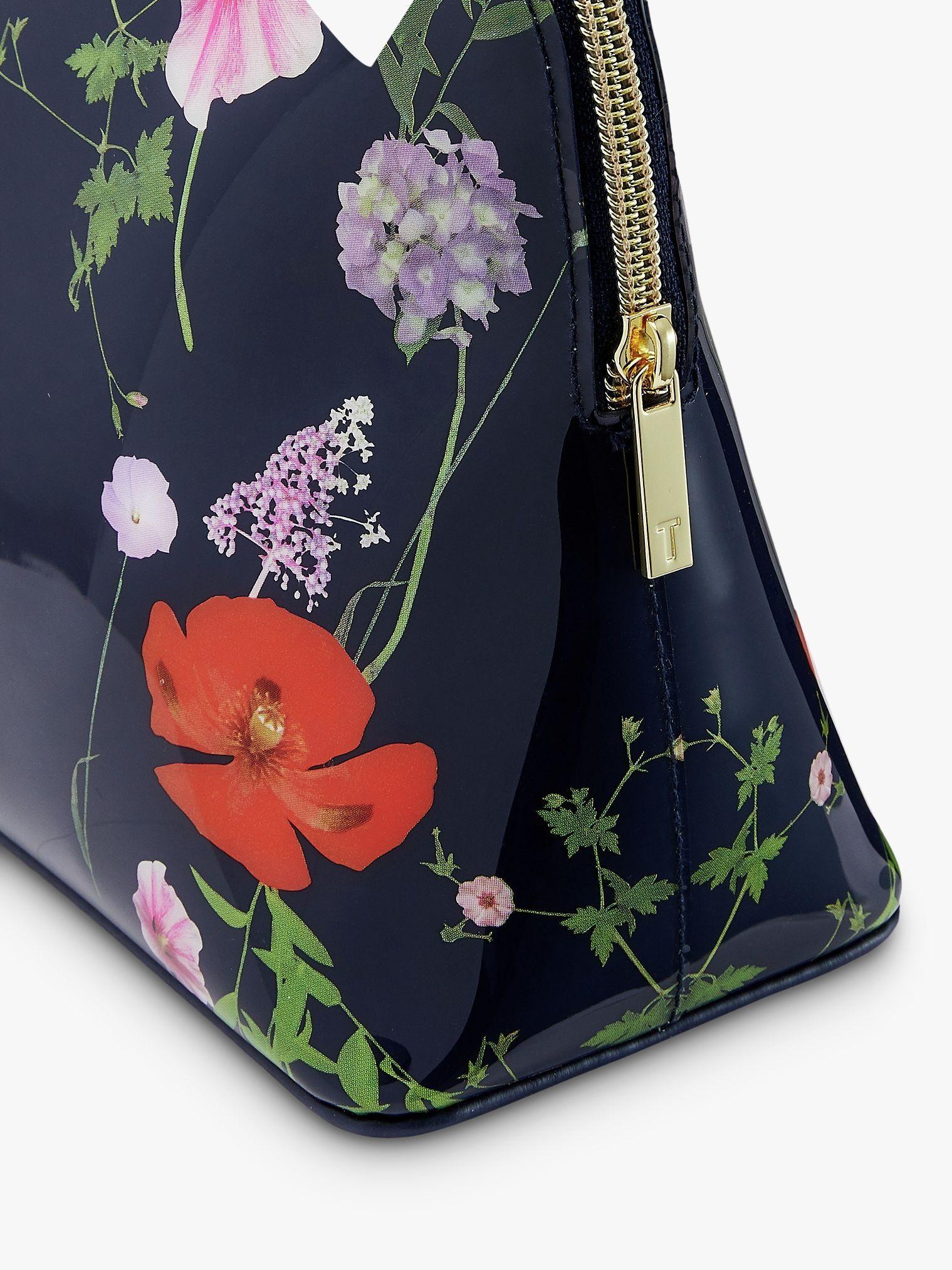 Ted Baker Agenina Hedgerow Wash Bag Dark Blue Wash Bags Bags