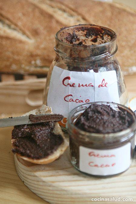 Cómo hacer crema de cacao y avellanas: Nocilla casera (o Nutella)