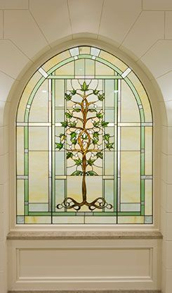 Stained Glass Window Laie Hawaii Lds Temple