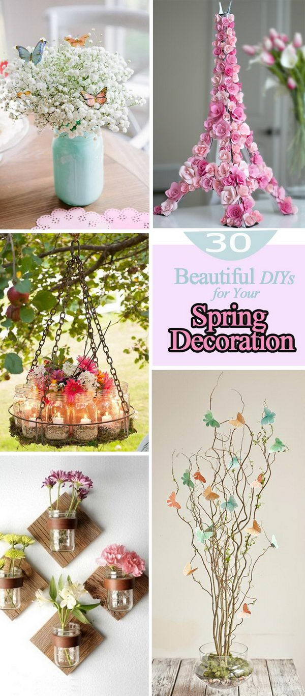 Diy Spring Decor: Spring Decor, Diy Vintage Decor, Fall Decor Diy Crafts