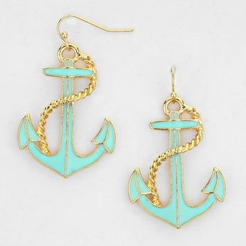 Anchor Earring. Get the lowest price on Anchor Earring and other fabulous designer clothing and accessories! Shop Tradesy now