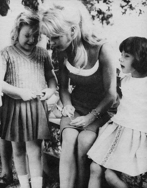 Brigitte Bardot during a holiday in Brazil, 1964.