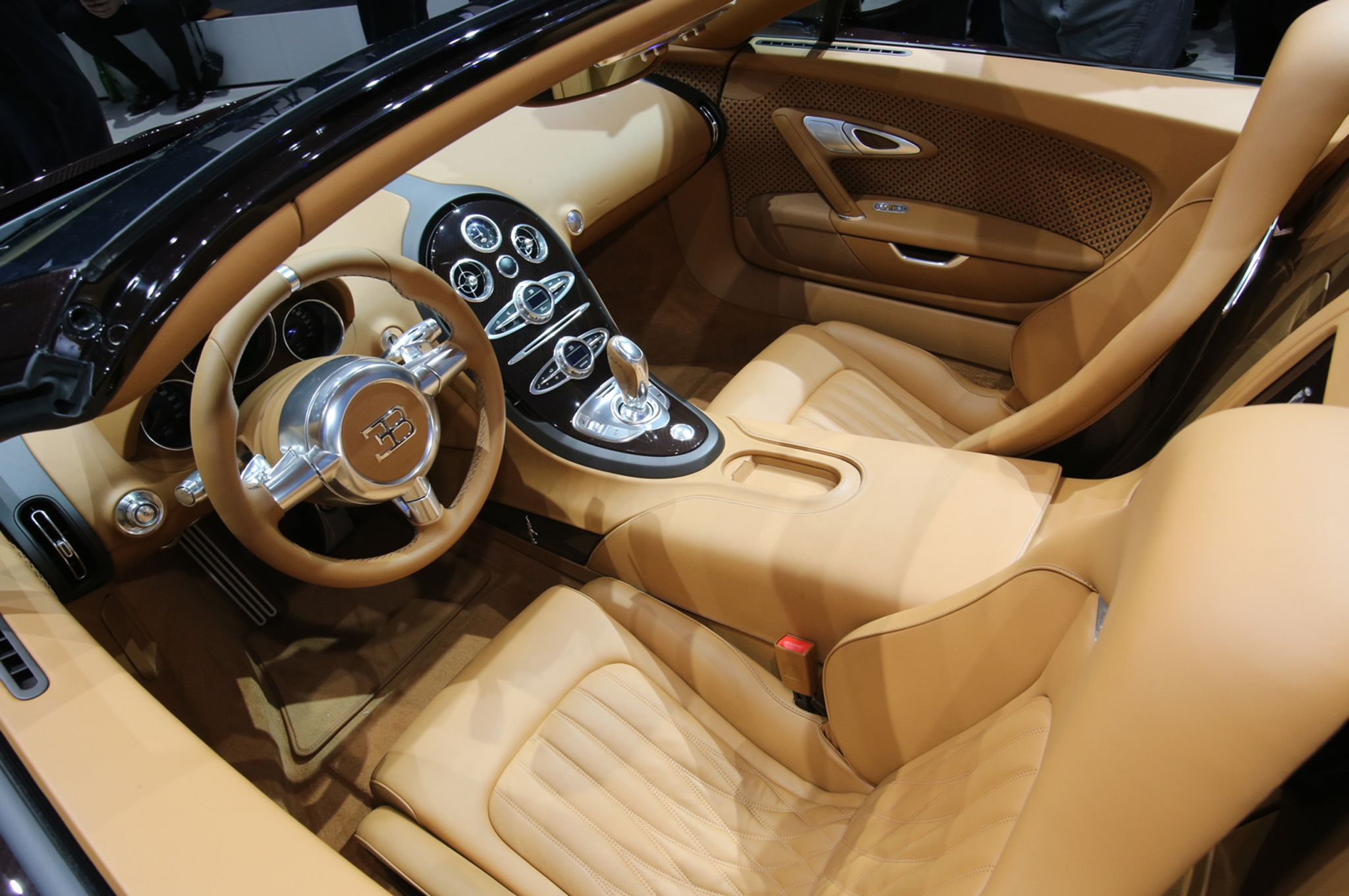 2014 Bugatti Veyron Super Sport Interior