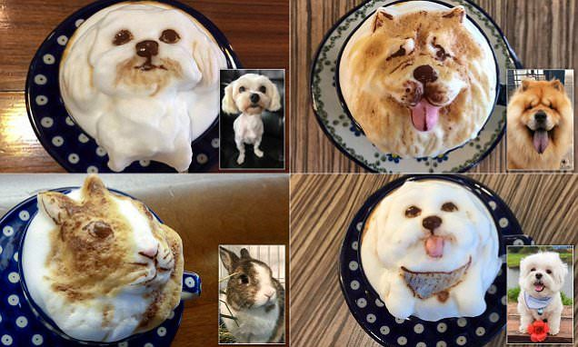 This Taiwan Cafe Just Took Coffee Art To The Next Level Fluffles