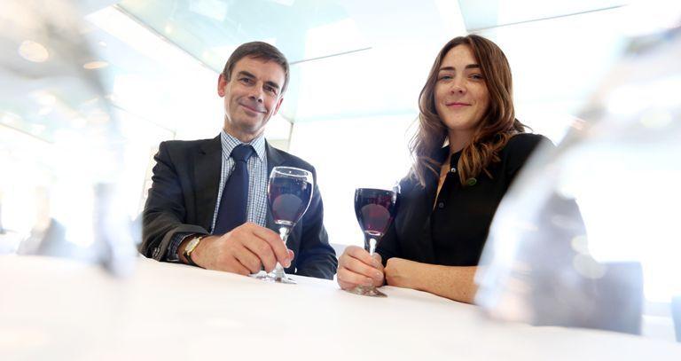 Fenwick Wine Shop Buyer Robin Winterschladen And Assistant To The Buyer Fiona Mclain 2