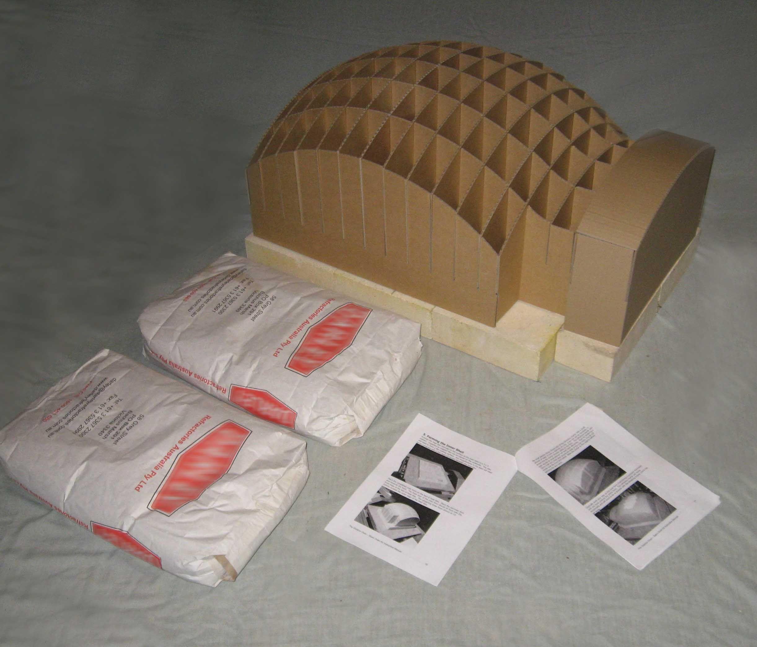 Diy pizza oven kit