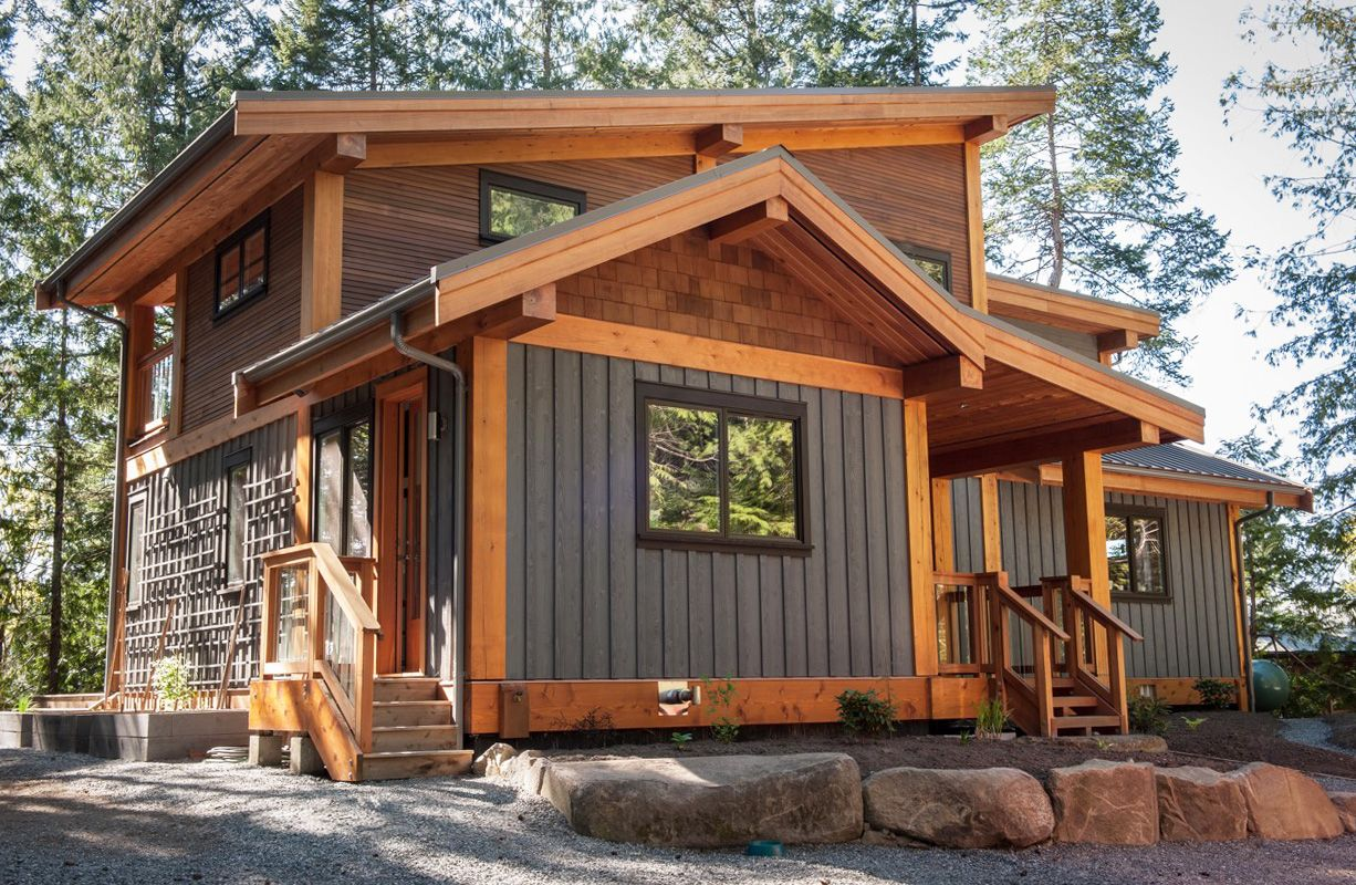 Difference Full Scribe Timber Frame