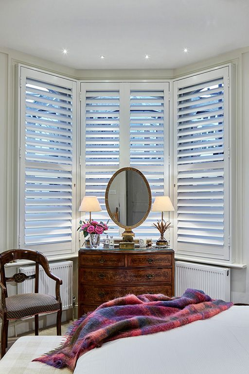 Security Shutters for bay windows by The Aluminium