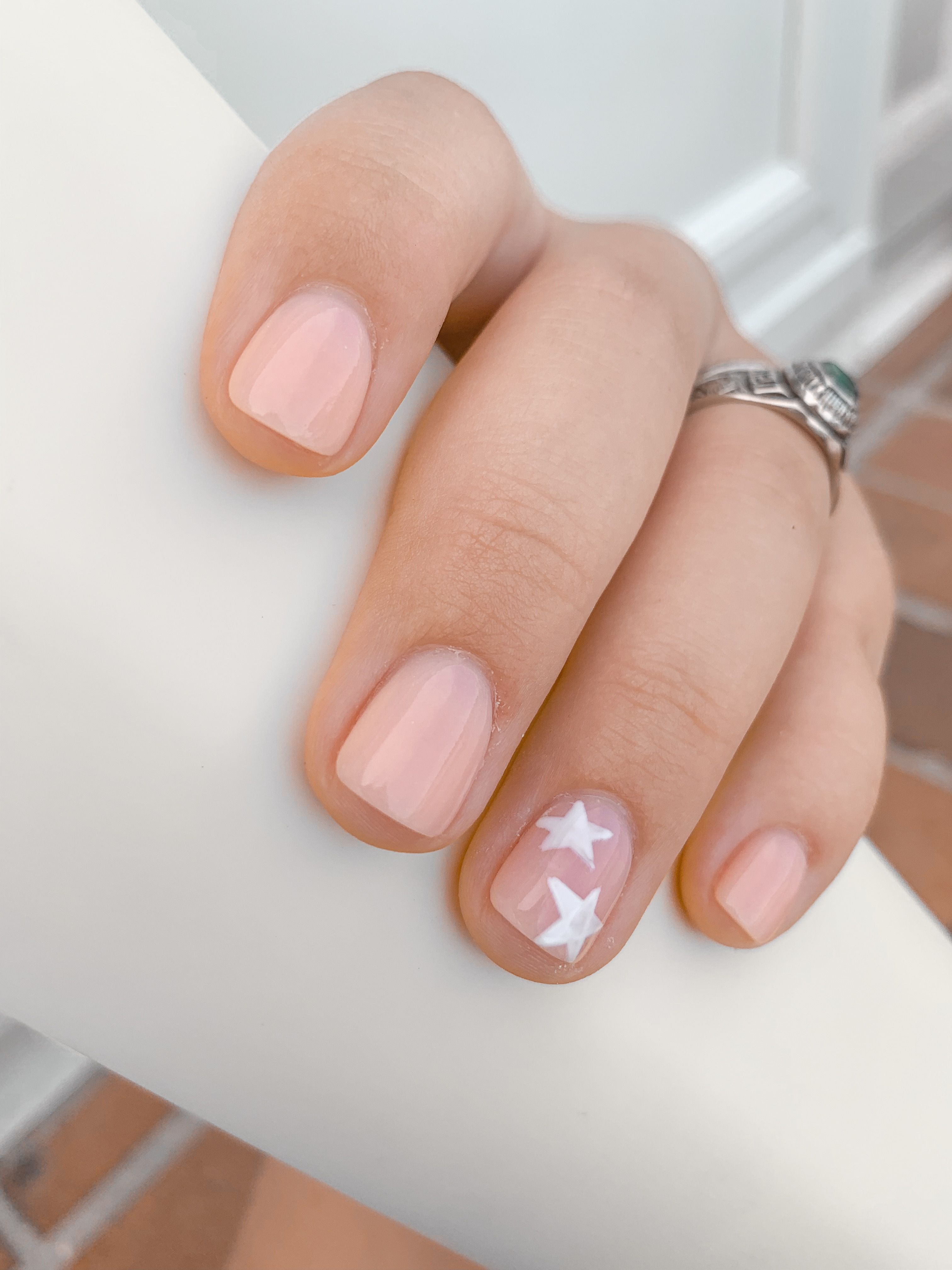 Sns Dip Powder 16 With Stars Summer Nails Colors Designs Hair And Nails Dip Powder Nails