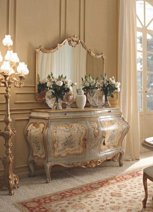 Decorando con gusto decoraciones de lujo en 2019 - Muebles italianos clasicos ...