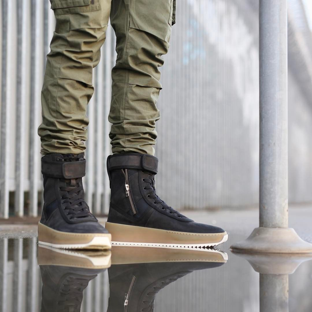 purchase cheap a42f9 d40cb Fear Of God Military Sneaker Boot