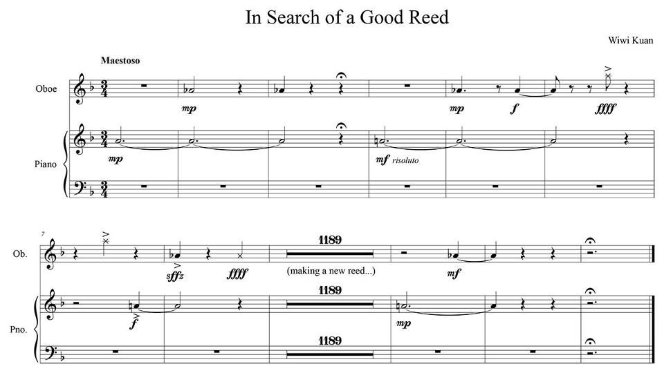 In Search Of A Good Reed Always This Is A Very Accurate