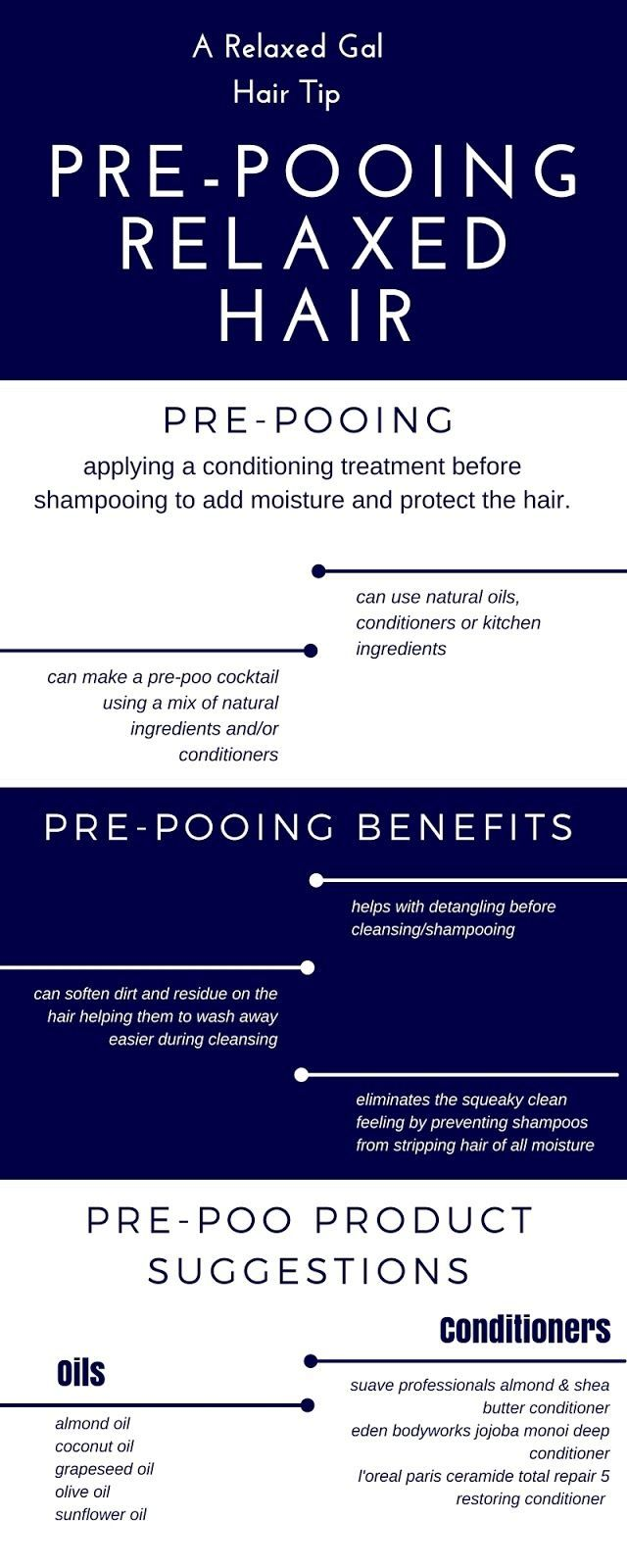 How To Prepoo Chemicallytreated Hair Relaxed hair
