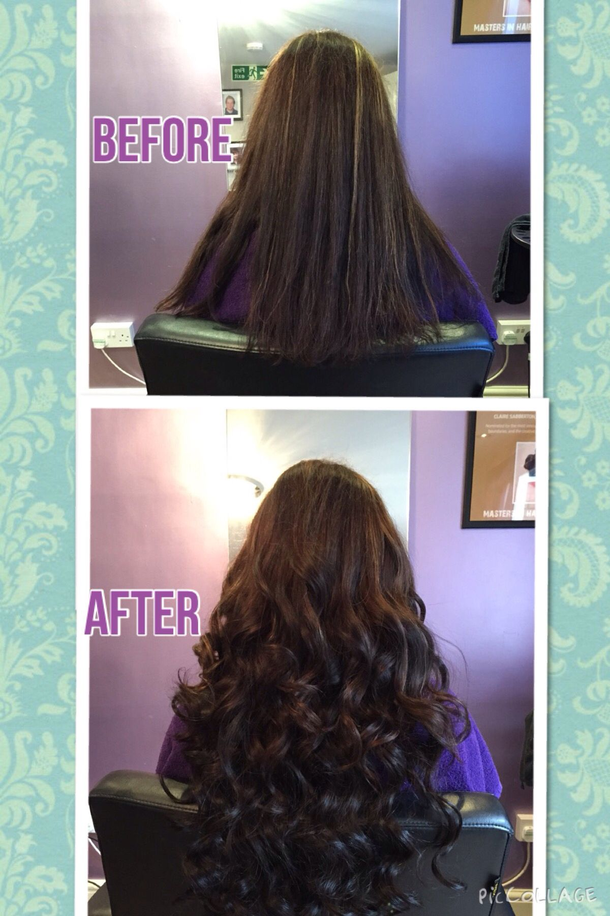 Great Lengths Hair Extensions Added For Length And Thickness Hair
