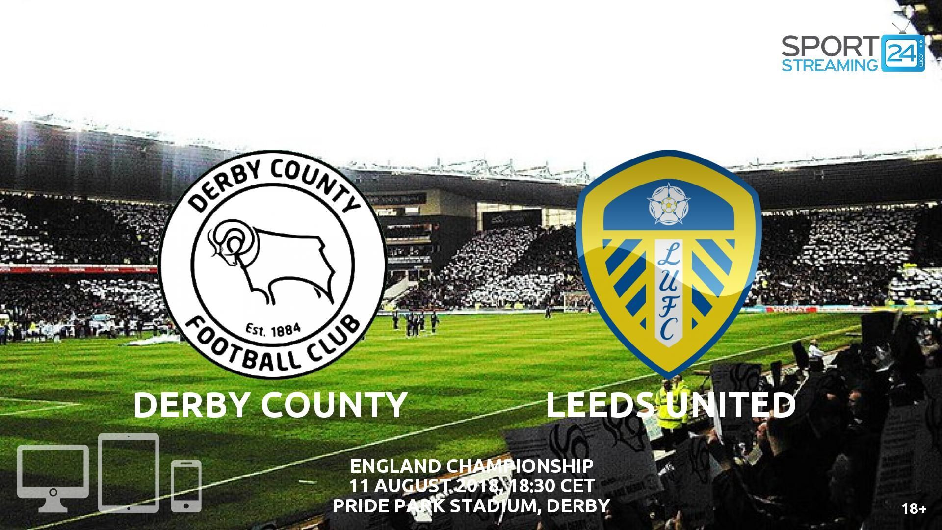 Derby v Leeds Live Streaming Football (With images