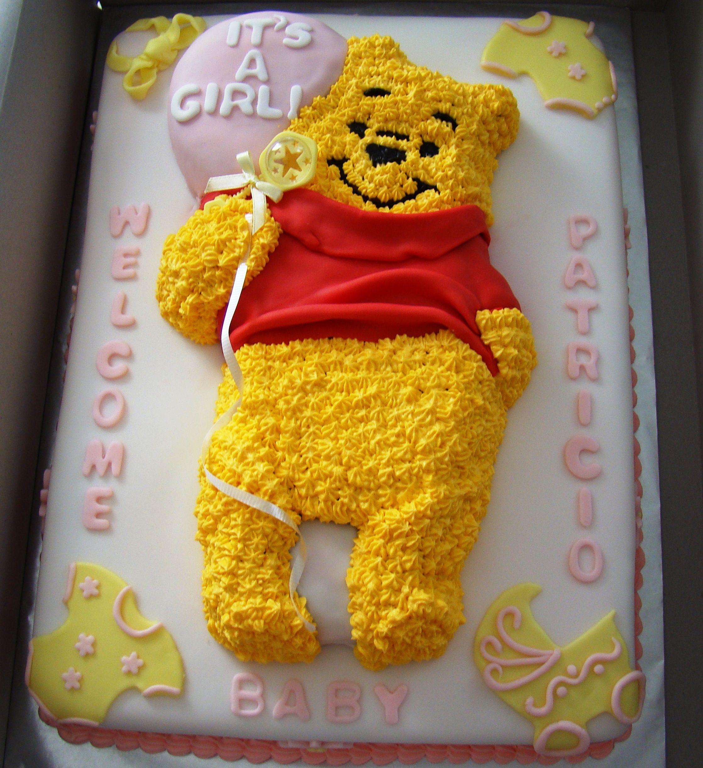 Winnie The Pooh Baby Shower Ideas | Winnie The Pooh Baby Shower   Cake  Decorating Community
