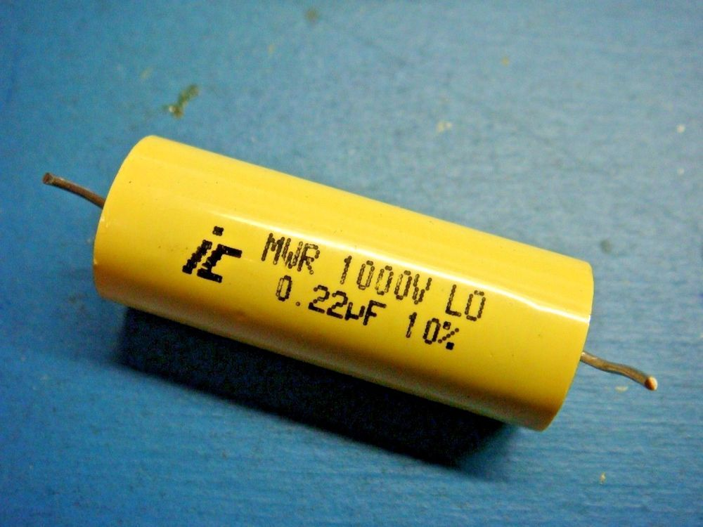 10 Illinois Capacitor 223mwr102k 0 22uf 1000v 10 Axial Metallized Polyester Electronics Components Diy Tech Illinois