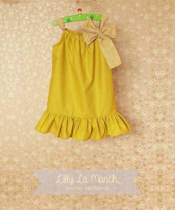 EASY pillowcase dress pattern | sew neat | Pinterest | Nähen für ...