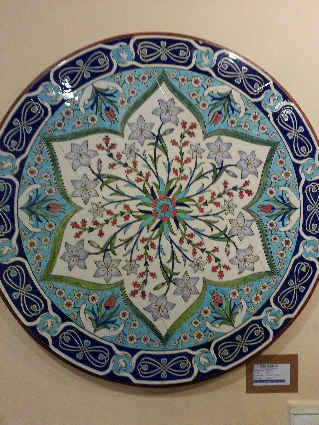 Turkish Tiles Ceramic Plates Ancient Art Porcelain Tiles Islamic Art Ottoman Turkey Decorative Plates Good Ideas & Pin by Oya Peker on ?znik | Pinterest | Islamic art Turkish tiles ...