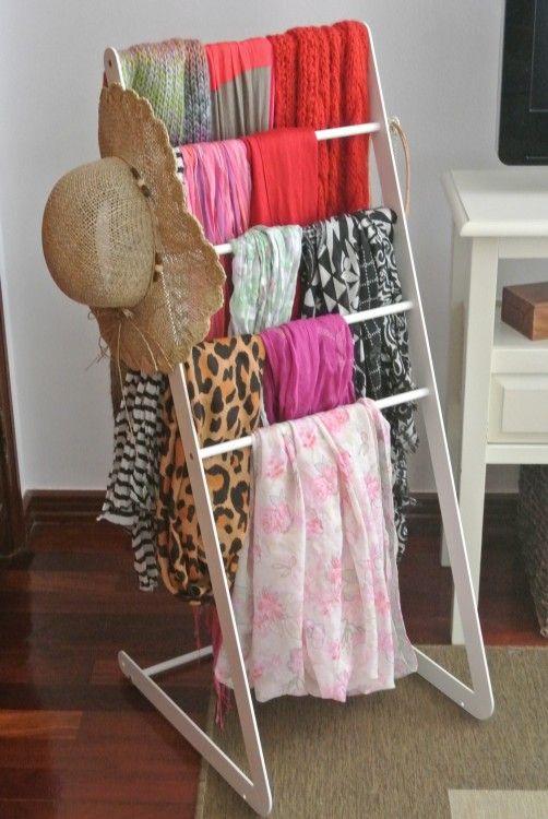 Craft Closet Organization Shelves