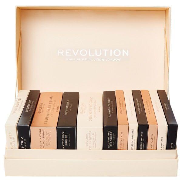 Christmas Makeup Gift Sets.Make Up Revolution 12 Days Of Christmas Makeup Gift Set