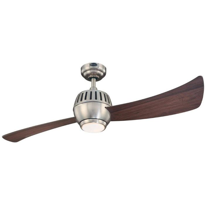Shop wayfair for all the best mid century modern ceiling fans enjoy westinghouse 7852400 sparta 2 blade hanging indoor ceiling fan with reversib aloadofball Choice Image