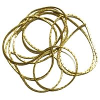 Metal Square Style Gold Color Chain