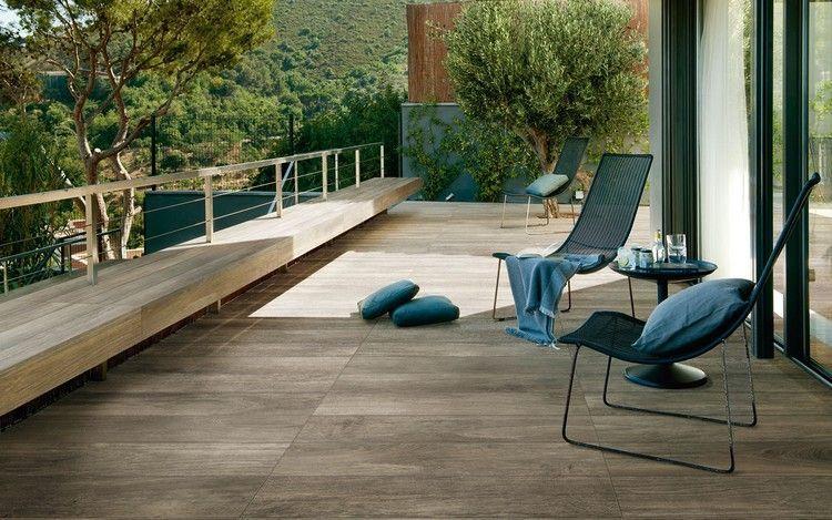 Großartig Terrassenbodenbelag Feinsteinzeug Fliesen in Holzopztik | Terrasse  WP79