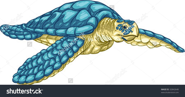 stock images similar to id 123792316 sea turtle vector rh pinterest com Sea Turtle Silhouette Black and White Sea Turtle Vector Art