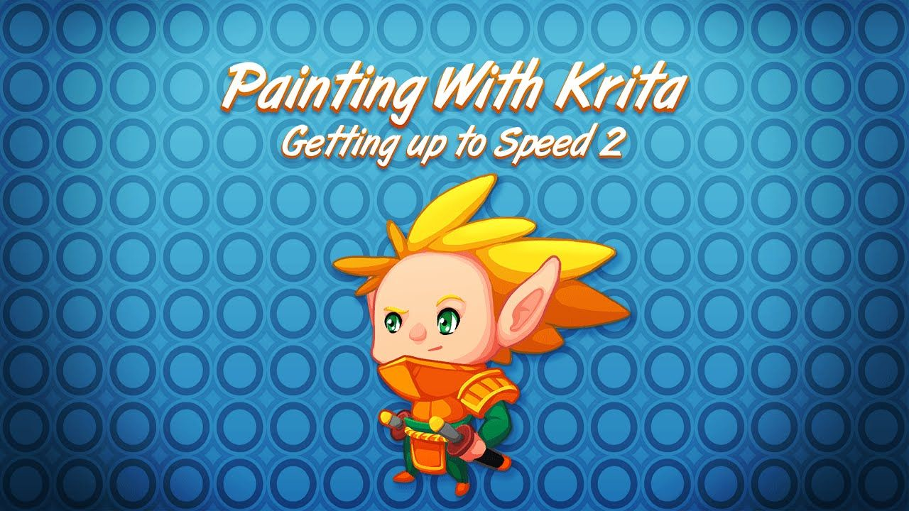 Painting with Krita - Getting Started part 2