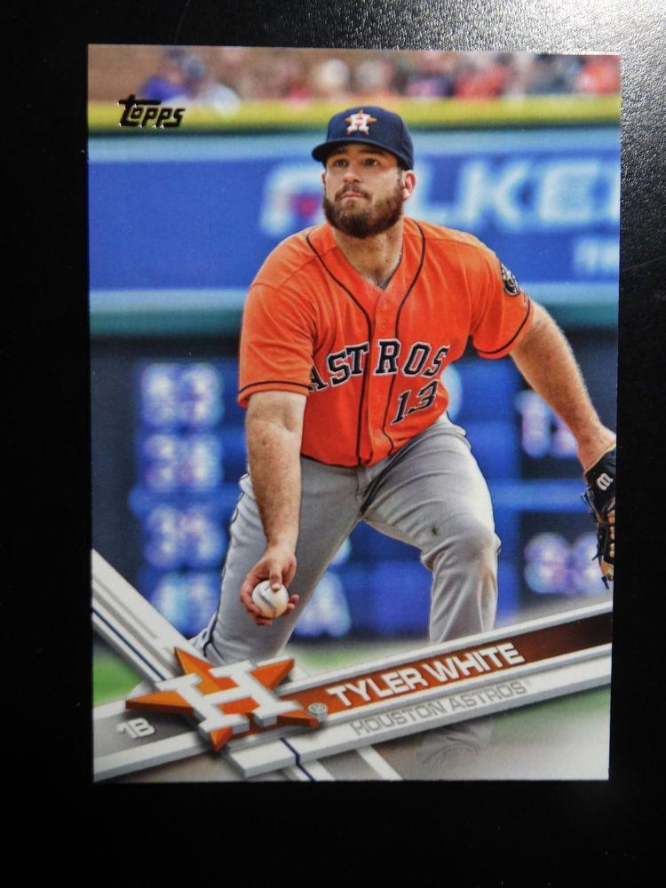 Details About 2017 Topps 285 Tyler White Houston Astros Baseball