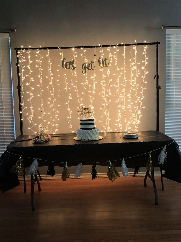 Lets get lit birthday party #50thbirthdaypartydecorations