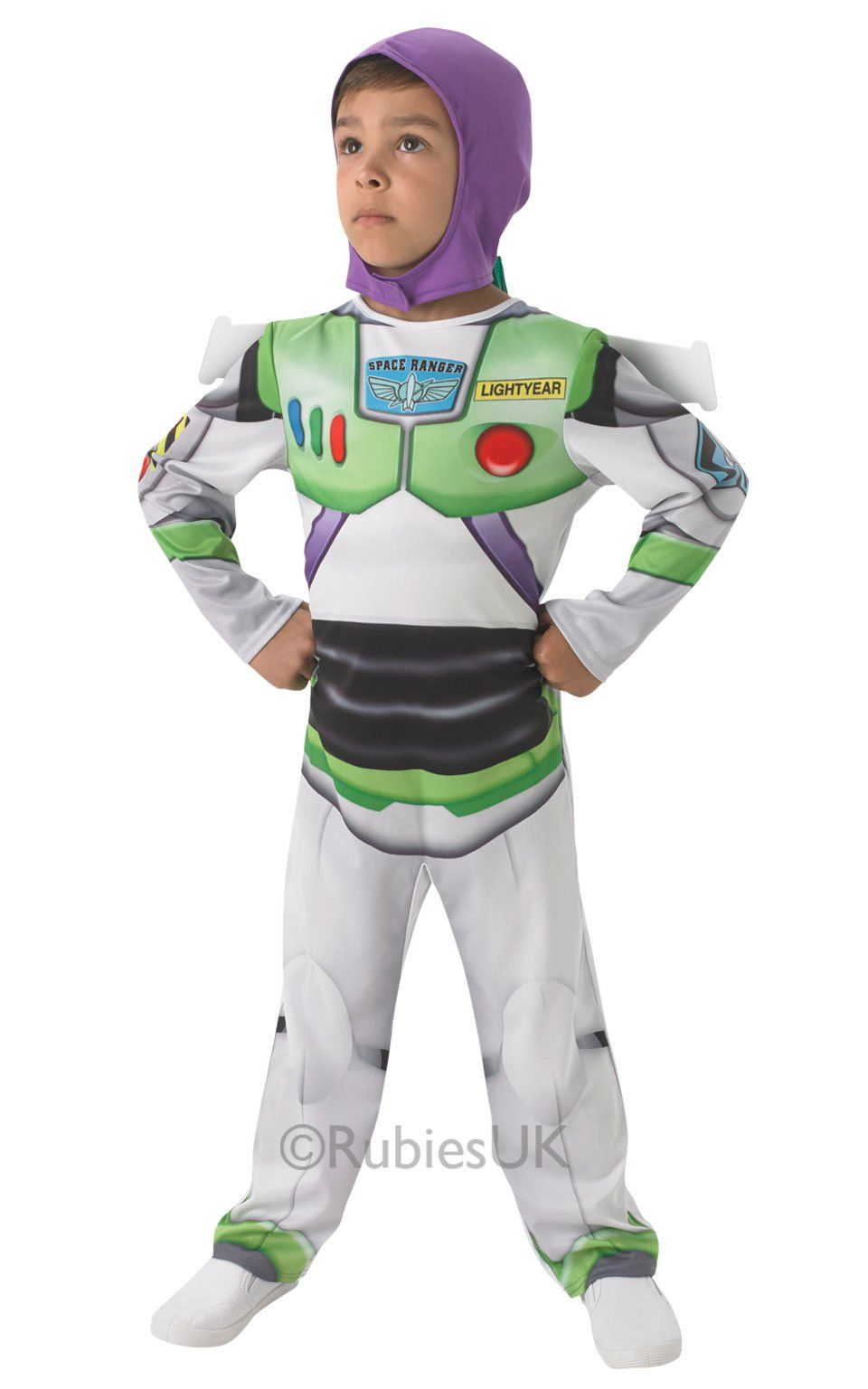 Buzz Lightyear Toy Story Astronaut Fancy Dress Up Halloween Baby Child Costume