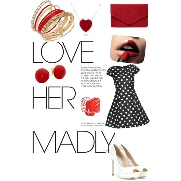 A fashion look from February 2015 featuring black dress, leather shoes and envelope clutch. Browse and shop related looks.