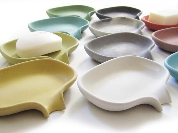 Soap Dish, Draining Soap Holder, Sponge Holder, Co