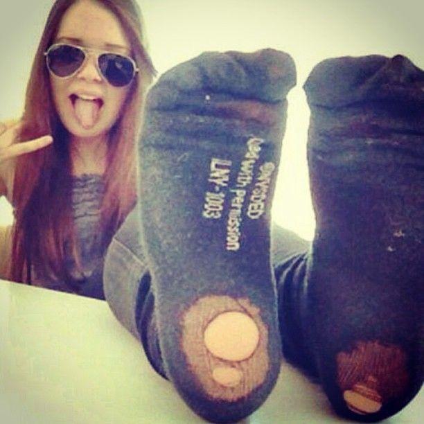 Cute teens girls wearing socks have