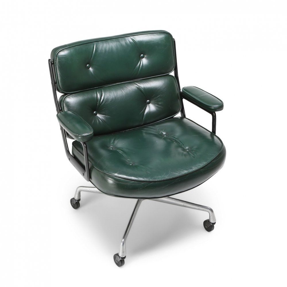 For sale eames time life lobby chair ea108 in green