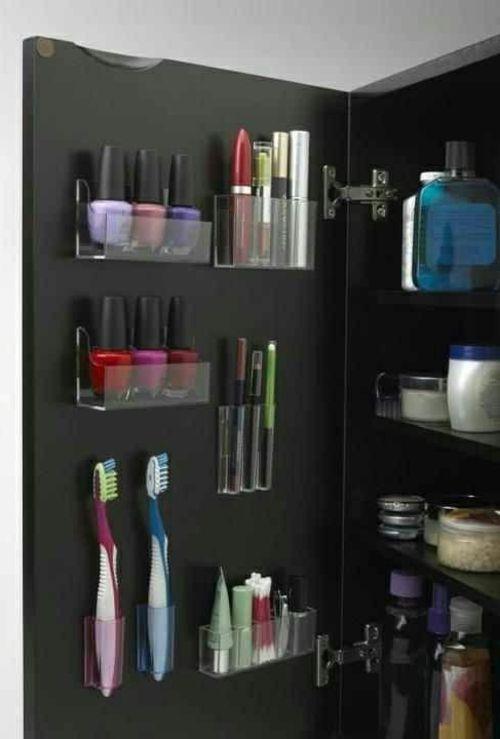 Badeinrichtung mit extra Stauraum - 45 stilvolle Ideen für Sie - klug badezimmer design stauraum organisieren