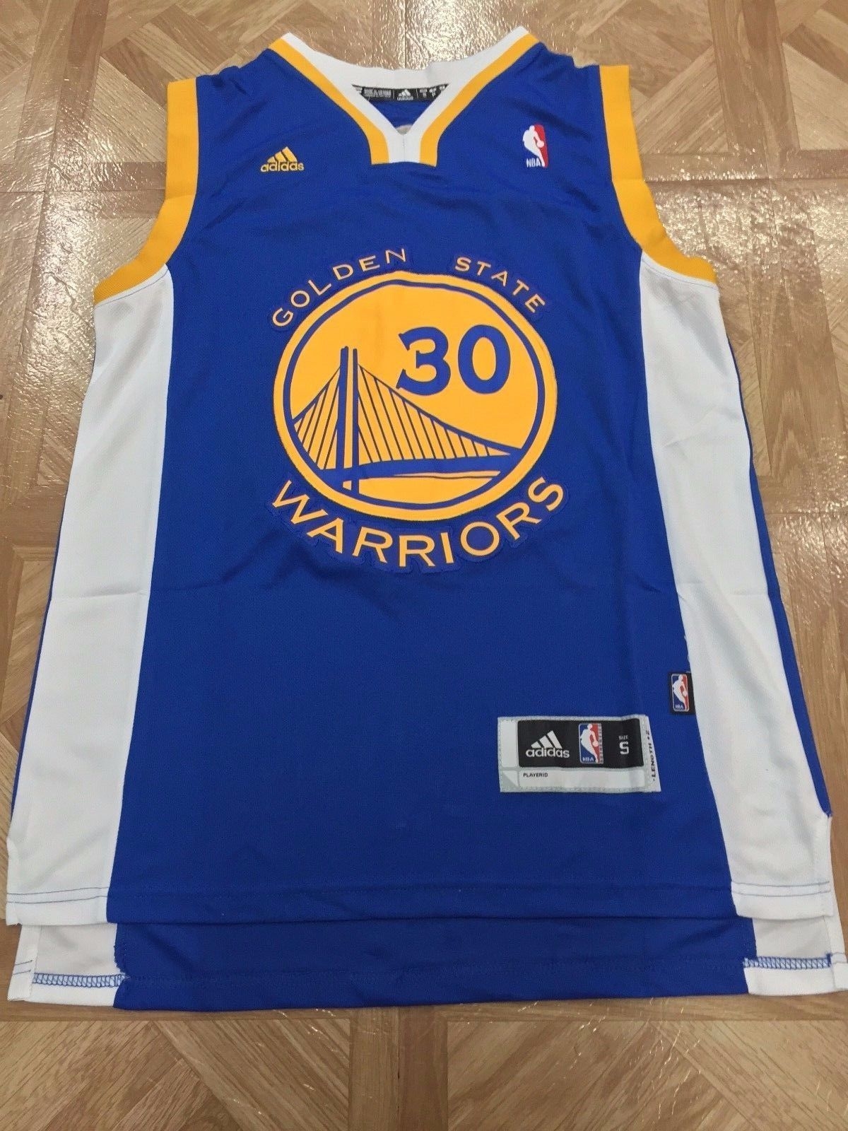 brand new 3cf6b 9e09c Stephen Curry 30 Golden State Warriors Basketball Jersey ...