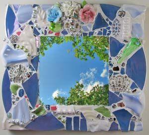 Pique Assiette Mosaic by Melissa Miller