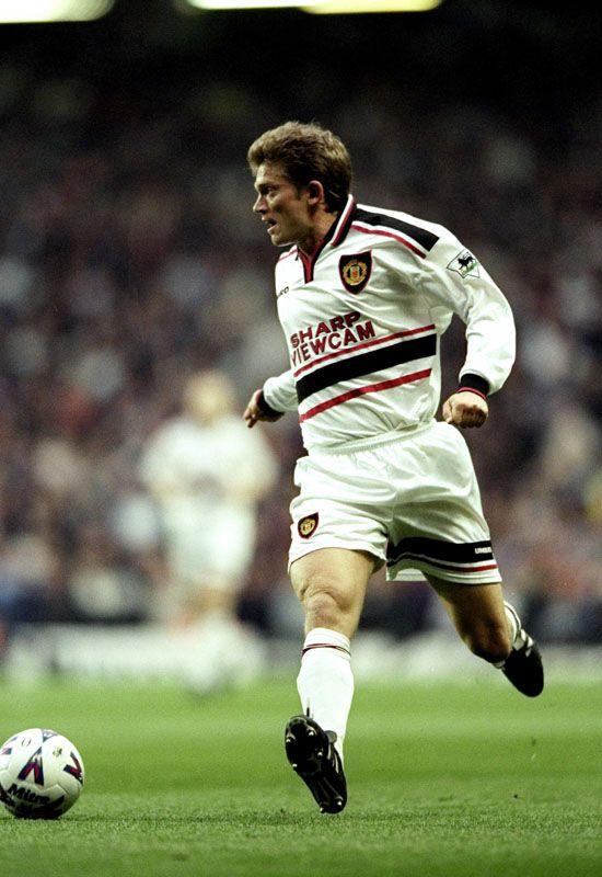 Treble-winner Jesper Blomqvist hails current Manchester United winger Ashley Young.