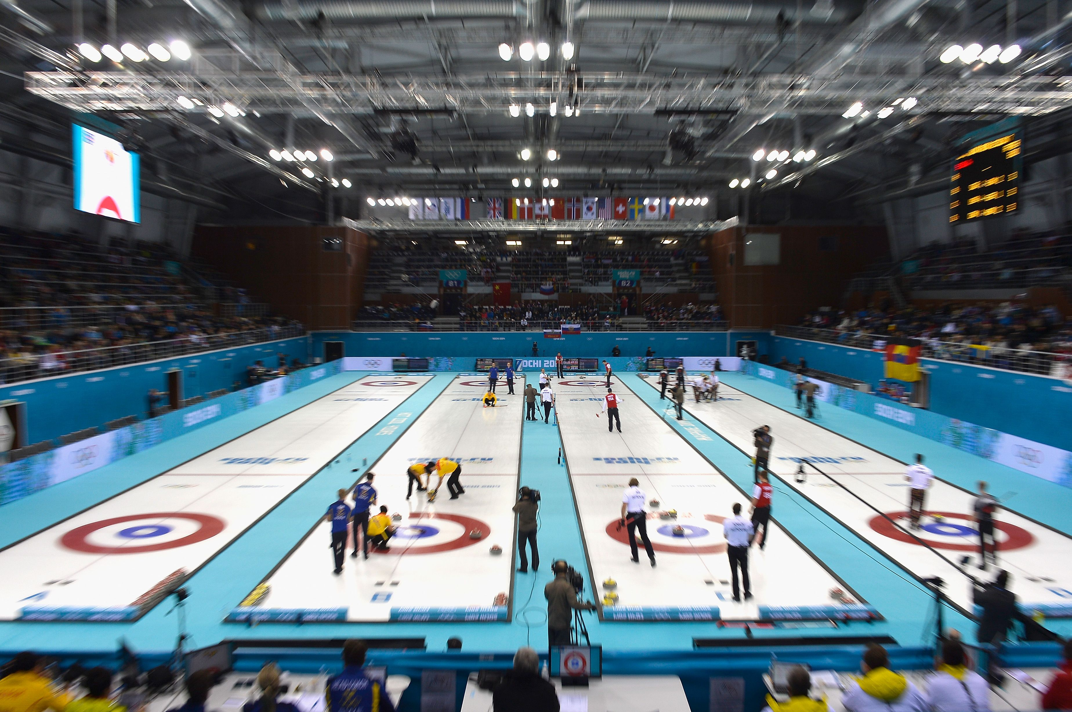 General View During Day Seven Of The Sochi Winter