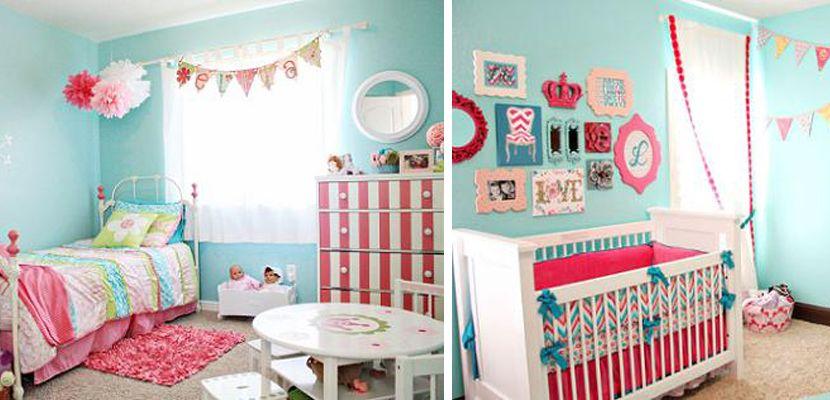 Habitaciones infantiles para ni as las mejores ideas for Habitaciones para 2 ninas