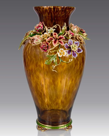 Dutch Floral Vase Faberge Cloisonne And Other Treasures