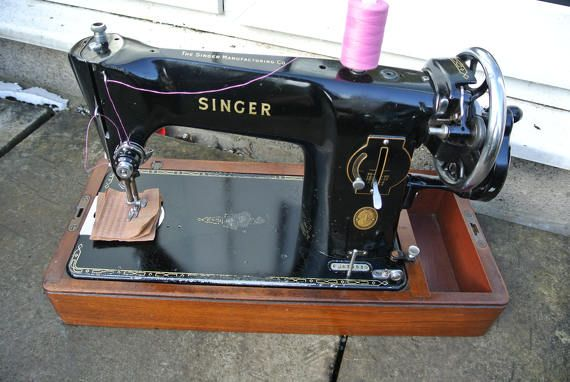Singer 400K Handcrank Sewing Machine See 40 Layers Upholstery Adorable Antique Singer Upholstery Sewing Machine