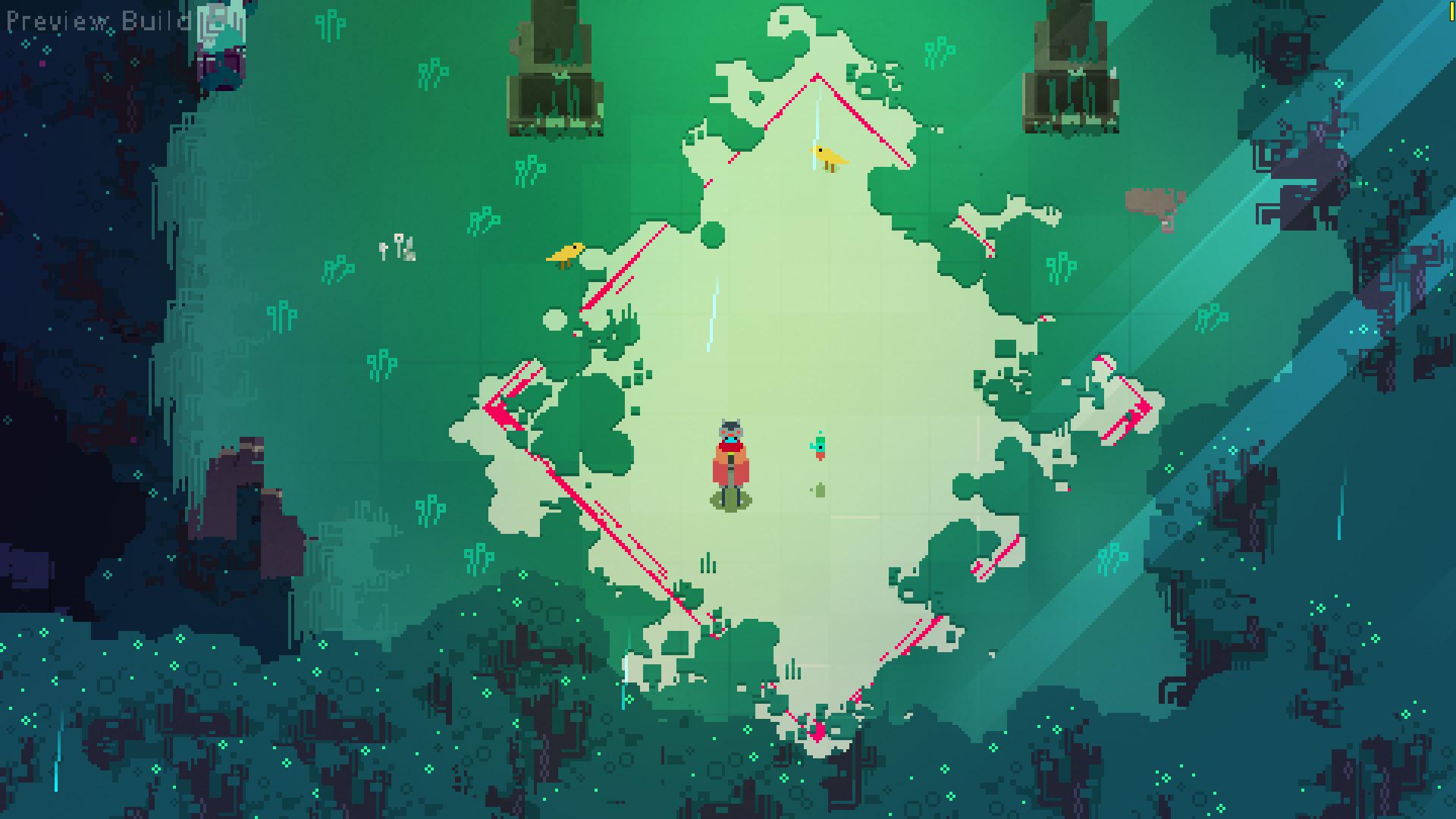 Hyper Light Drifter screenshot.