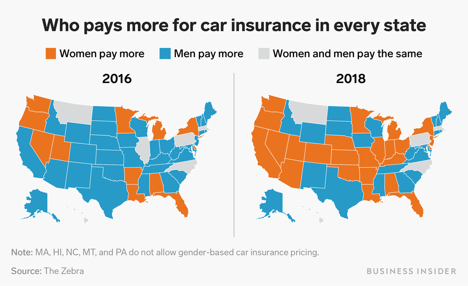 Car Insurance Rates Are Going Up For Women Across The Us Here S