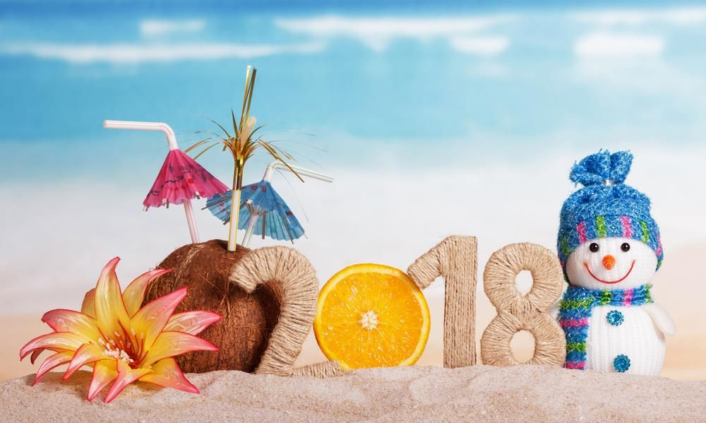 Happy New Year 2018 HD Background Pics